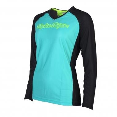 Maillot TROY LEE DESIGNS MOTO Femme Manches Longues Turquoise