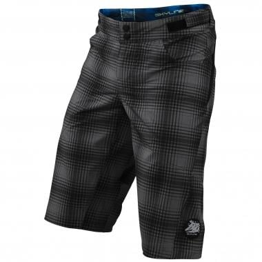 Pantaloni Corti TROY LEE DESIGNS SKYLINE PLAID Bambino Grigio