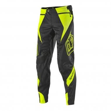 Pantalon TROY LEE DESIGNS SPRINT REFLEX Gris/Jaune Fluo 2016