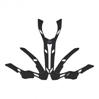 Mousses de Casque TROY LEE DESIGNS A2 X-STATIC Noir