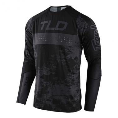 Maillot TROY LEE DESIGNS SPRINT ULTRA Manches Longues Noir 2021