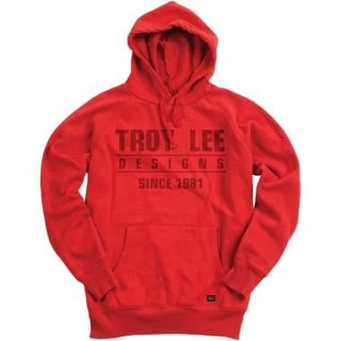 Sweat à Capuche TROY LEE DESIGNS STANDARD Rouge