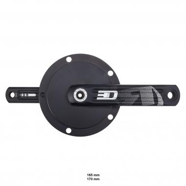 Pedalier de Pista ROTOR 3D AERO 144 mm
