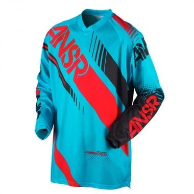 Maillot ANSWER RACING SYNCRON Manches Longues Bleu/Rouge 2017