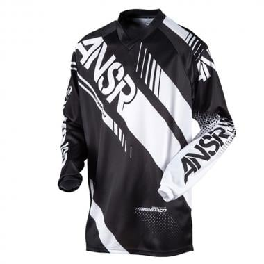 Maillot ANSWER RACING SYNCRON Manches Longues Noir/Blanc 2017