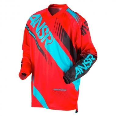 Maillot ANSWER RACING SYNCRON Manches Longues Rouge/Bleu 2017