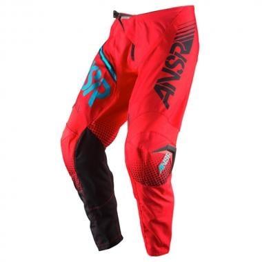 Pantalon ANSWER RACING SYNCRON Rouge/Bleu 2017