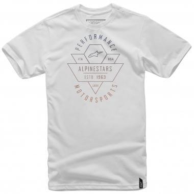 T-Shirt ALPINESTARS CHEVRON Branco 2016