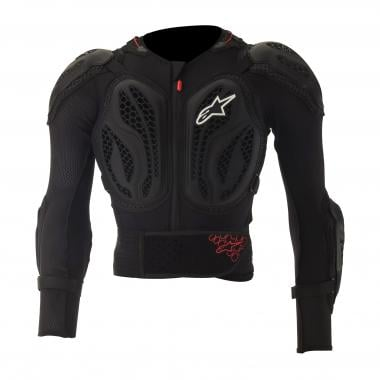 Gilet de Protection ALPINESTARS BIONIC ACTION Noir/Rouge