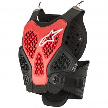 Gilet de Protection ALPINESTARS BIONIC PLUS Noir/Rouge 2019