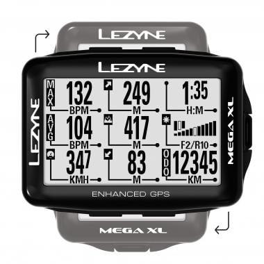 GPS LEZYNE MEGA XL BUNDLE