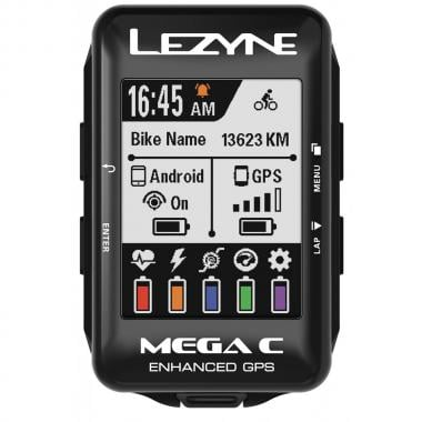 GPS LEZYNE MEGA COLOR