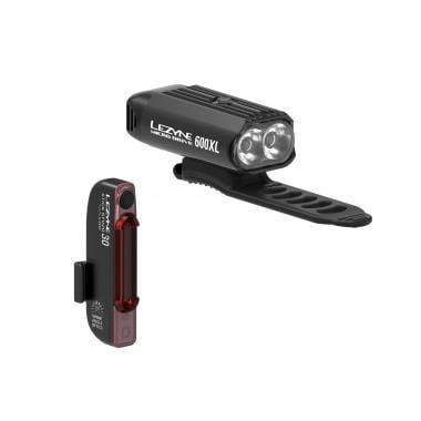Éclairages Avant et Arrière LEZYNE MICRO DRIVE 600XL / STICK PAIR