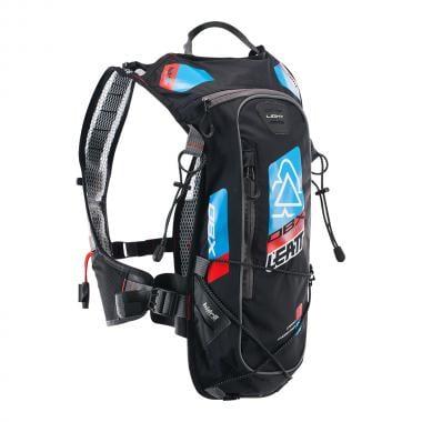 Sac d'Hydratation avec Dorsale Intégrée LEATT DBX MOUNTAIN LITE Noir/Bleu/Rouge