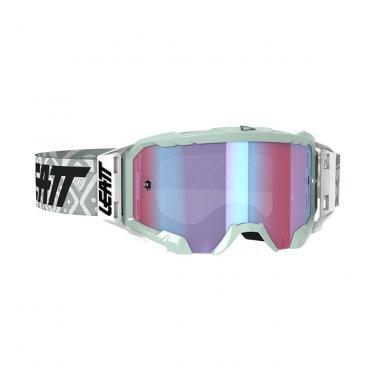Masque LEATT VELOCITY 5.5 IRIZ Blanc Écran Iridium 2020