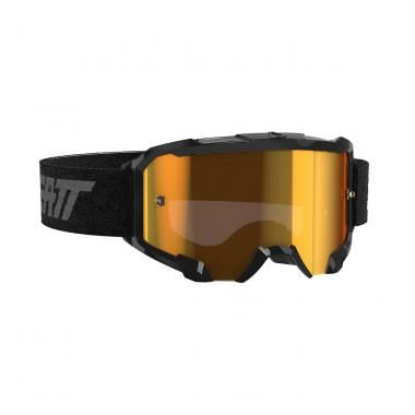 LEATT VELOCITY 4.5 IRIZ Goggles Black Iridium Lens 2020