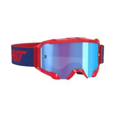 Masque LEATT VELOCITY 4.5 Rouge Écran Bleu 2020