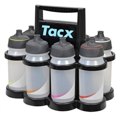 Casier à Bidons TACX STARLIGHT + 8 Bidons (500 ml)