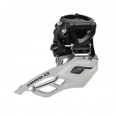 Deragliatore Anteriore SRAM X5 2x10V Collarino Alto Tiraggio Alto/Basso