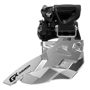 Desviador Dianteiro SRAM GX 2x10V Abraçadeira Alta Tração Baixo 36/38 Dentes