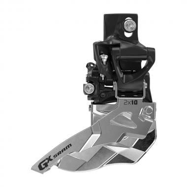Dérailleur Avant SRAM GX 2x10V Direct Mount Haut Tirage Haut 36/38 Dents