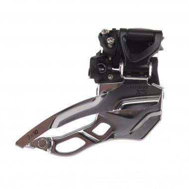 Deragliatore Anteriore SRAM X5 3x10V Collarino Alto Tiraggio Alto