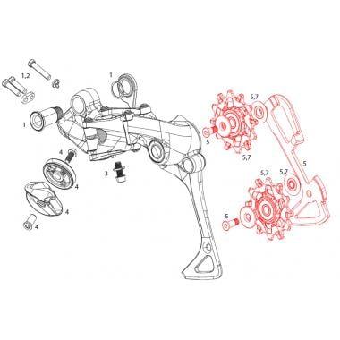 Kits Galets et Cage Intérieure 8V SRAM EX1 #11.7518.083.000