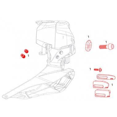 Kit de pièces de Rechange pour Dérailleur Avant SRAM FORCE ETAP AXS #11.7618.007.001