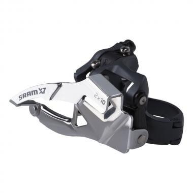 Desviador delantero SRAM X7 2x10V Abrazadera baja Tiro alto/bajo