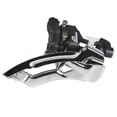 Desviador delantero SRAM X7 3x9V Abrazadera baja Tiro alto/bajo