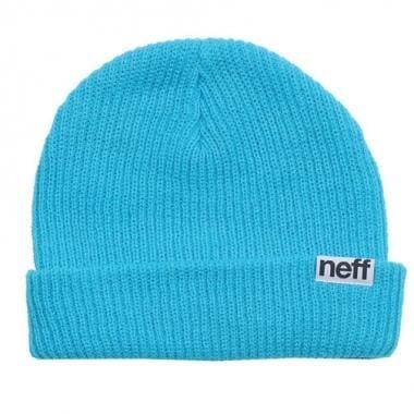 Bonnet NEFF FOLD Bleu Cyan