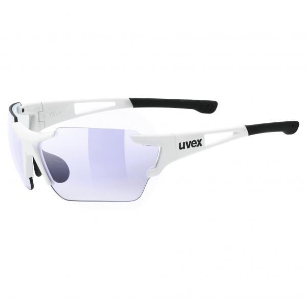 Lunettes UVEX SPORTSTYLE 803 RACE Blanc Photochromique Iridium