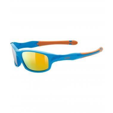 Lunettes UVEX SPORTSTYLE 507 Enfant Bleu/Orange Iridium