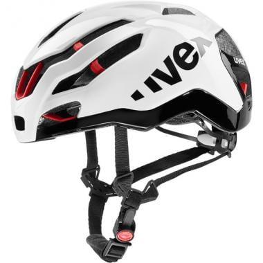 Casque Route UVEX RACE 9 Blanc/Noir/Rouge