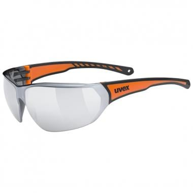 Lunettes UVEX SPORTSTYLE 204 Noir/Orange Iridium 2021