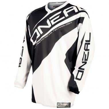 Maillot O NEAL ELEMENT RACEWEAR Manches Longues Blanc