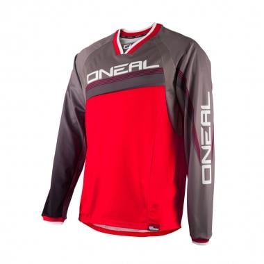 Maillot O NEAL ELEMENT FR Mangas largas Rojo/Gris