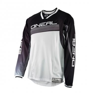Maillot O NEAL ELEMENT FR Manches Longues Noir/Blanc