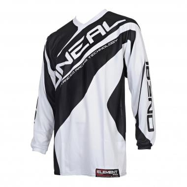 Maillot O NEAL ELEMENT RACEWEAR Enfant Manches Longues Blanc