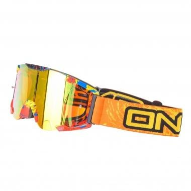 Gafas máscara O NEAL B2 RL SPRAY Naranja/Radium