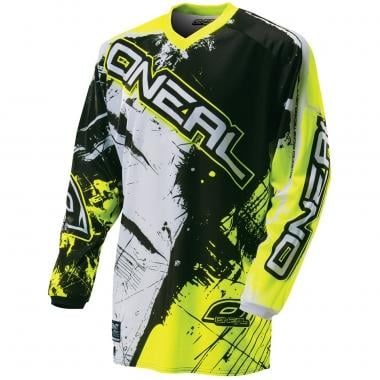 Jersey O NEAL ELEMENT SHOCKER Manga Comprida Preto/Amarelo