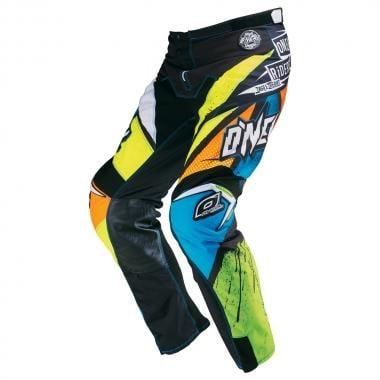 Pantalon O NEAL MAYHEM LITE GLITCH Noir/Jaune
