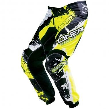Pantaloni O NEAL ELEMENT SHOCKER Nero/Giallo
