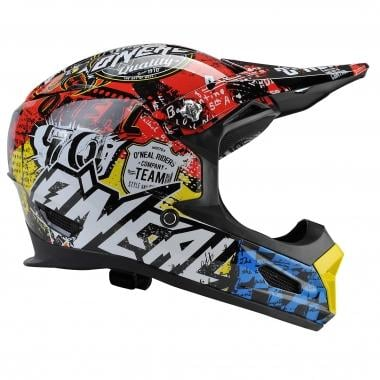 Casque O NEAL FURY RL WILD Rouge