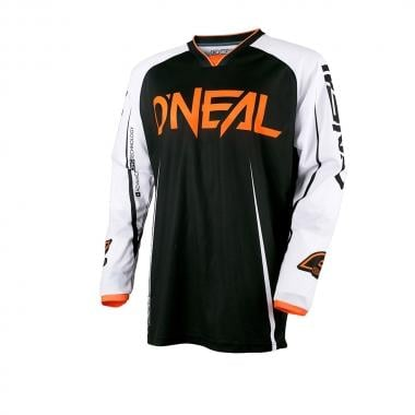 Maillot O NEAL MAYHEM LITE BLOCKER Manches Longues Noir/Blanc/Orange 2017