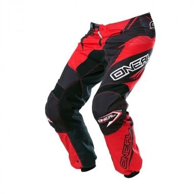 Pantalon O NEAL ELEMENT RACEWEAR Noir/Rouge 2017