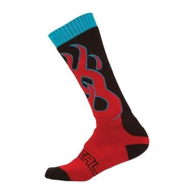 Calcetines O NEAL PRO MX TORCH Negro/Rojo 2017