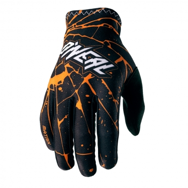 Gants O NEAL MATRIX ENIGMA Noir/Orange 2017