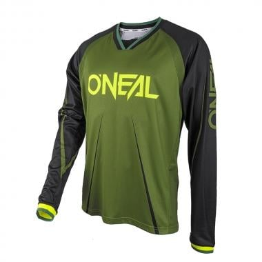 Maillot O NEAL ELEMENT FR BLOCKER Mangas largas Verde/Negro 2017