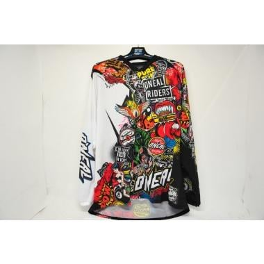 CDA - Maillot O NEAL MAYHEM CRANK Manches Longues Noir/Multi Taille XXL